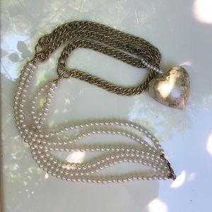 Stylish Unique Heart Pendant Necklace